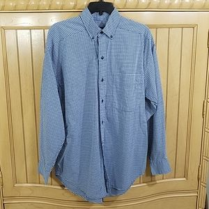 Sonoma Blue Check Oxford,  sz Small
